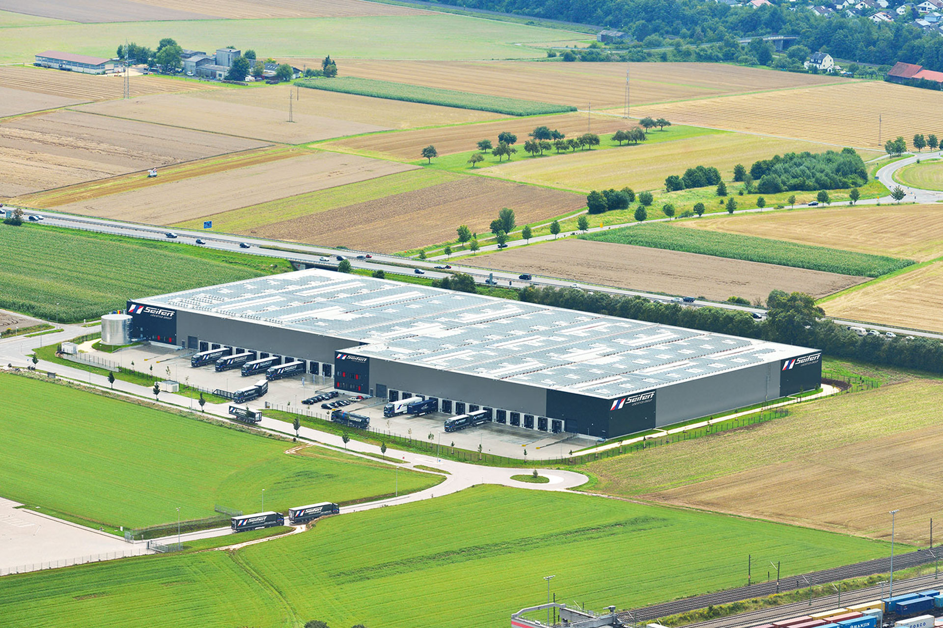 Zentrallager der Seifert Logistics Group in Ulm Nord